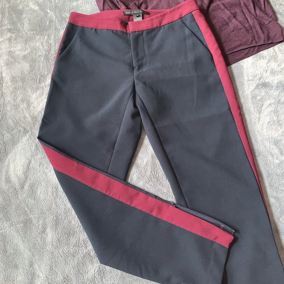 Marc By Marc Jacobs Pants - Marc Jacobs // Navy & Red Dress Pants